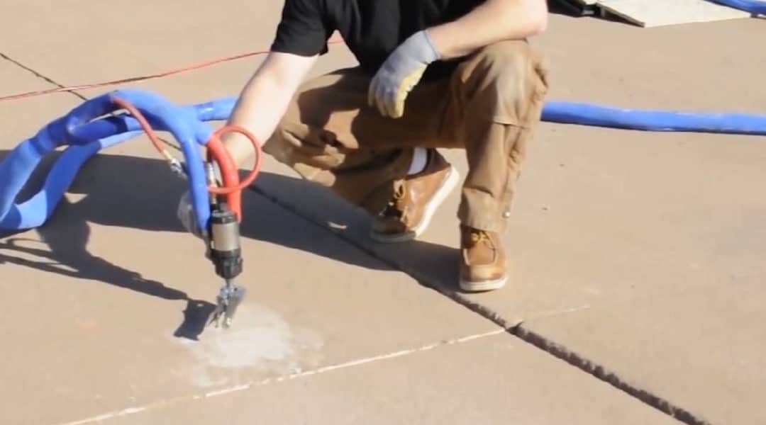 Faster Repairs With Polyurethane Concrete Lifting